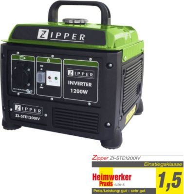 Zipper  Stromerzeuger ZI-STE1200IV, max. 1200 W