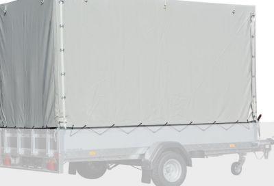 Hochplanen-Set 150 cm inkl. Spriegel für Basic STL 750-25-13 / Basic ST 1000-25-13 / Basic ST 1300-25-13