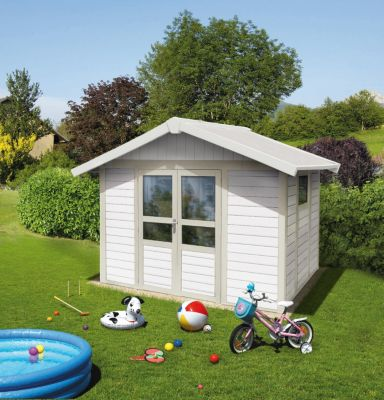 Basic Home 7,5 Kunststoff-Gartenhaus
