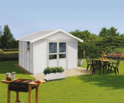 Basic Home 11 Kunststoff-Gartenhaus