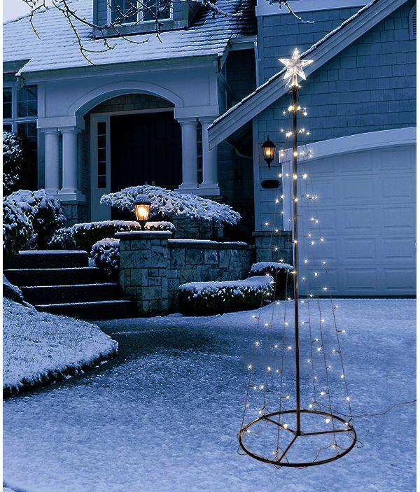 haushalt international lichterbaum weihnachtsbaum weihnachtsbeleuchtung ebay. Black Bedroom Furniture Sets. Home Design Ideas
