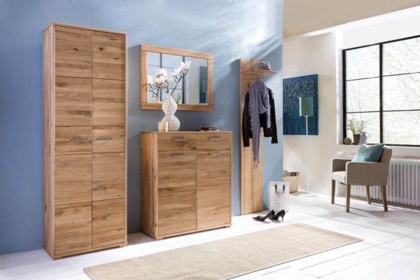 kommode jana sideboard schuhschrank stauraum holz wildeiche massiv ebay. Black Bedroom Furniture Sets. Home Design Ideas