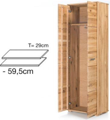 G + K Möbelvertriebs 2er Set Einlegeböden für Garderobenschrank JANA 1726559000