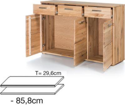 G + K Möbelvertriebs 2er Set Einlegeböden für Schuhschrank/ Kommode JANA 1726559001