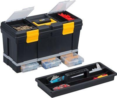 McPlus Depot P20 Werkzeugkoffer, schwarz