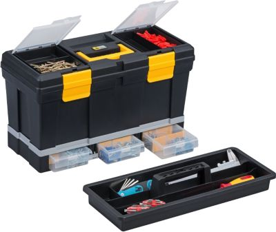 allit Allit McPlus Depot P20 Werkzeugkoffer, schwarz