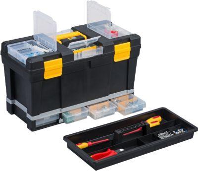 McPlus Depot P23 Werkzeugkoffer, schwarz