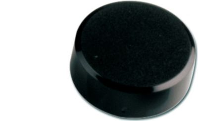 Facetterand-Magnet MAULpro, Ø 30 x 10 mm, 0,6 kg Haftkraft, 20 St./Set - schwarz