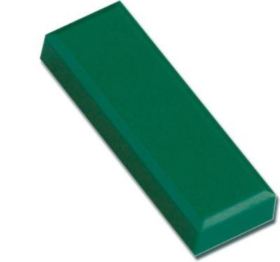 Facetterand-Magnet MAULpro, 53 x 18 x 10 mm, 1 kg Haftkraft, 20 St./Set - grün