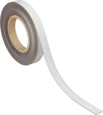 Kennzeichnungsband, magnetisch, 10 m x 20 mm x 1 mm