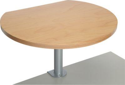 Stehtisch mit Tischklemme - holz