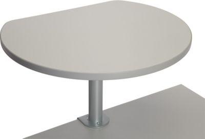 Stehtisch mit Tischklemme - grau