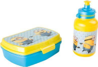 Minions - Brotdose und Trinkflasche