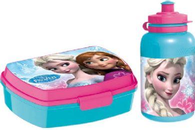 Brotdose und Trinkflasche - Disney Frozen