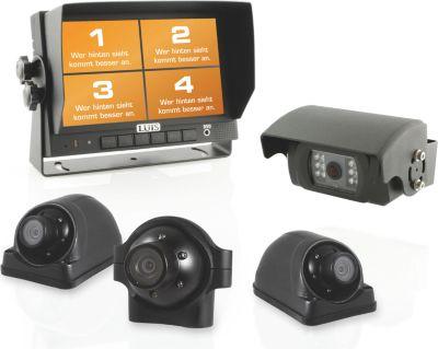 R7-S Quad Rückfahrsystem mit 4 Kameras