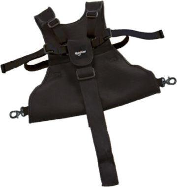 Sicherheitsgurt Lux für Kinderwagen schwarz