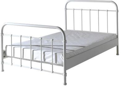 metallbett wei preisvergleich die besten angebote. Black Bedroom Furniture Sets. Home Design Ideas