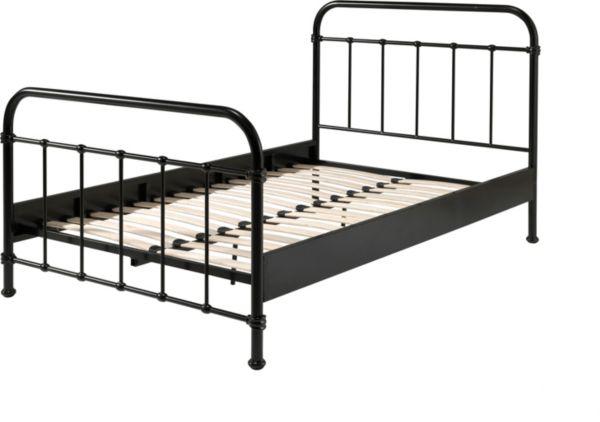 vipack metallbett new york 120x200 cm einzelbett bett kinderbett jugendbett ebay. Black Bedroom Furniture Sets. Home Design Ideas