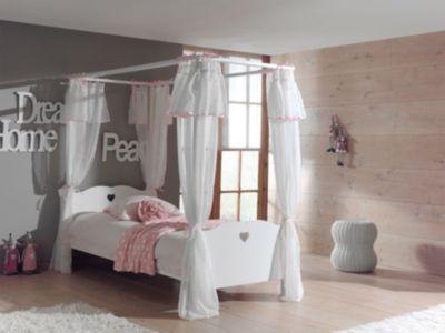 vipack-himmelbett-amori-90x200-cm-ohne-vorhang, 319.99 EUR @ plus-de