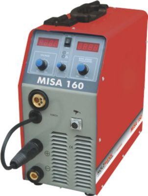 Holzmann Maschinen Holzmann MISA160 MIG/MAG Inverter-Schweißanlage