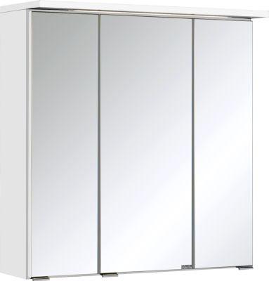 Bologna 3D-Spiegelschrank - 60 cm - Weiß