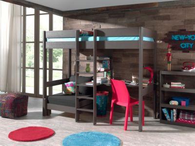 Vipack Furniture Hochbett, taupe