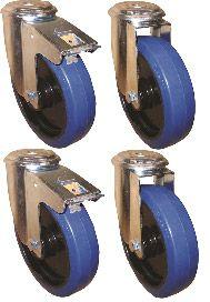 Alutec  Rädersatz passend für alle Riffelblechboxen