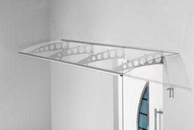 Gutta Typ PT/ET Pultvordach Edelstahl, 300 x 90 cm