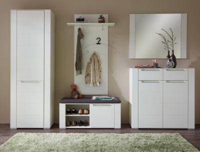 Garderobenset Dinaro - Weiß