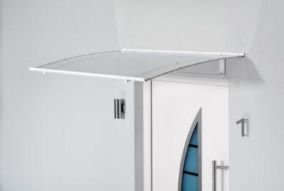 Gutta Aktionspultvordach Weiß/Klar 17,5 cm x 140 cm x 90 cm