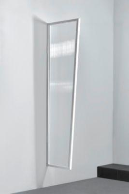 Gutta  Typ B1/PC Vordach-Seitenteil klar, 200 x 60 cm, weiß