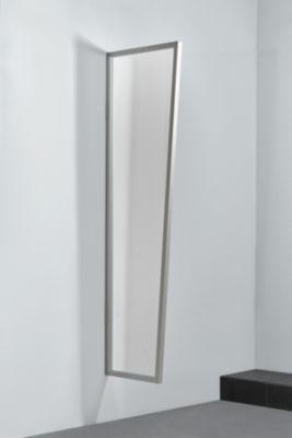 Gutta  Typ B1 Vordach-Seitenteil acryl, 200 x 60 cm, Edelstahl
