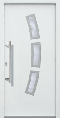 Aluminium-Haustür Modell A07 weiß, links, nach ...