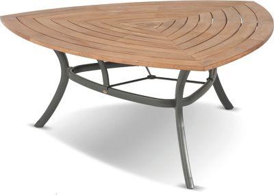 Hartman Outdoor Hartman Gartentisch Triangular - FSC Teak Tischplatte