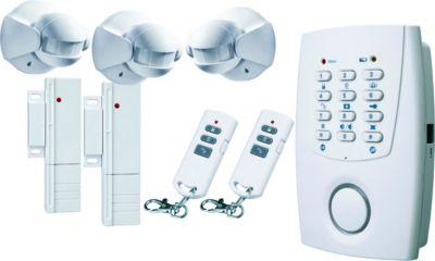 Smartwares Flamingo HA33S Alarmsystem mit Telefonwahlgerät