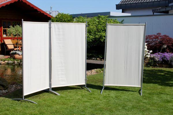 leco stellwand trennwand sichtschutz gartensichtschutz balkonsichtschutz ebay. Black Bedroom Furniture Sets. Home Design Ideas