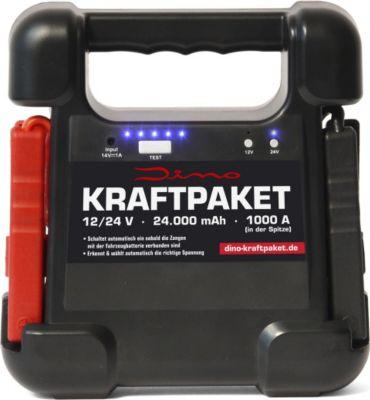Dino  136104 Kraftpaket 12/ 24V Starthilfegerät 24.000 mAh 1.000A