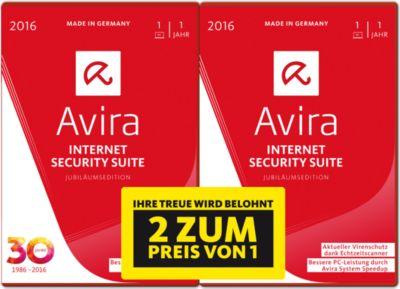 Avira Internet Security Suite DVD 2016 - 1 Gerä...