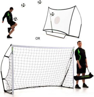 Kickster  Rebounder + Fußballtor - Combo 2 in 1 - 2,4 x 1,5m