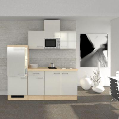 Flex well küchenzeile 210 cm g 210 1602 002 abaco