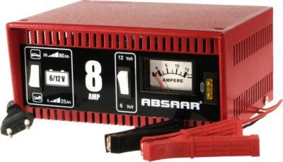 Absaar Batterieladegerät 8A 6/12 V
