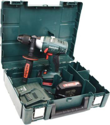 Metabo  SB 18 LT Compact Akku-Schlagbohrmaschine mit 2x18 V Akkus, Ladegerät und Transportkoffer