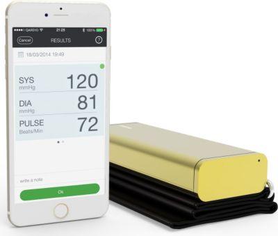 QardioArm - Wireless Blood Pressure Monitor - Gold 1774930000