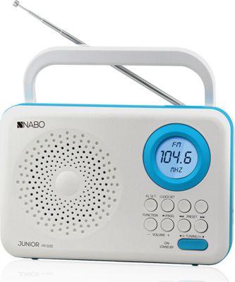 Nabo Junior PR505 digitales FM Radio - weiß/blau