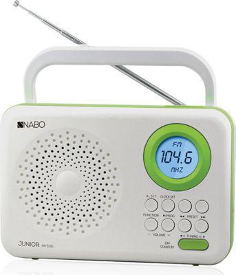 Nabo Junior PR510 digitales FM Radio - weiß/grün