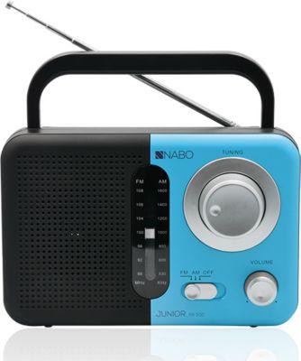 Nabo Junior PR500 digitales FM Radio - schwarz/blau