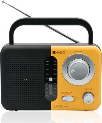 Nabo Junior PR501 digitales FM Radio - schwarz/orange