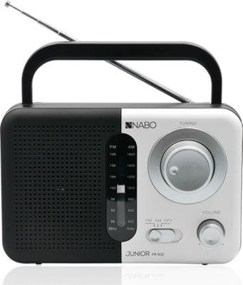 Nabo Junior PR502 digitales FM Radio - schwarz/weiß
