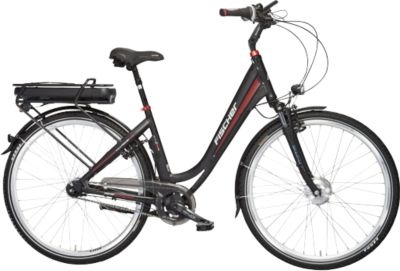FISCHER e-bike CITY ECU 1721, Vorderradmotor 48V/557Wh, Shimano 7-Gang-Schaltung