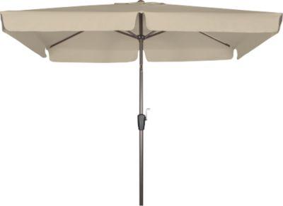 Derby  Sonnenschirm Basic Lift 210x140, Greige